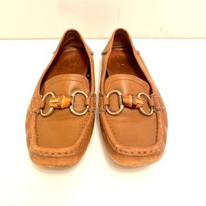 Gucci | Leather Brown Horsebit Loafers Size 7